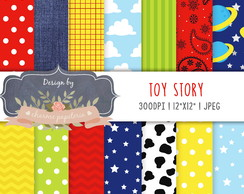 Kit Papel Digital Toy Story