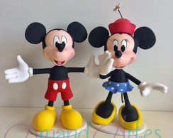 Enfeite de Mesa Mickey Minnie