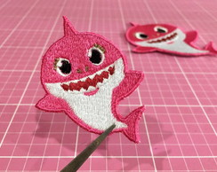 PATCH BORDADO BABY SHARK TERMOCOLANTE