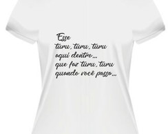 Camiseta Sandy e Junior Esse turu turu