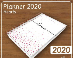Arquivo Digital - Planner 2020 Hearts