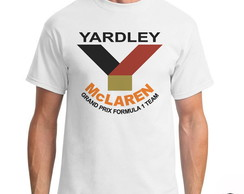 Camiseta Yardley Team Mclaren Formula 1 + Adesivo Exclusivo