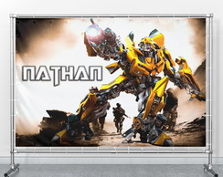 Painel Transformers Bumblebee personalizado