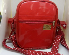 Bolsa shoulder bag vermelha