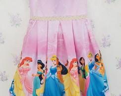 Vestido Princesa Disney Elo7