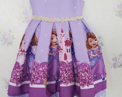 Vestido Princesa Sofia Luxo Original Da Disney Elo7