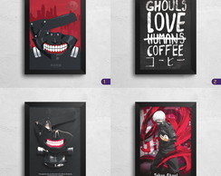 Quadro Poster Tokyo Ghoul - 24 x 32,7 cm