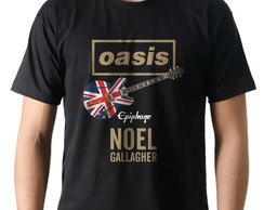 Camiseta Camisa Banda Rock Oasis Noel Gallagher Guitarra