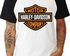 Camiseta Motor Cycles Raglan
