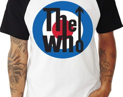 Camiseta The Who Raglan