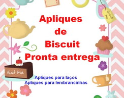 Aplique Biscuit pronta entrega