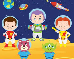 2023 Kit digital PNG - Toy story Astronautas