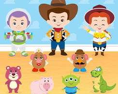 Kit digital PNG - Toy Story #2024