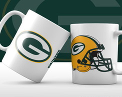 Caneca Green Bay Packers - Helmet