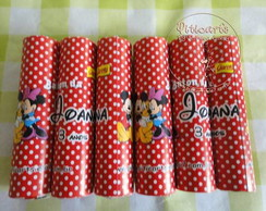 Baton de Chocolate Mickey e Minnie