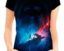 Camiseta Babylook Feminina - Star Wars 9 Ascensão Skywalker