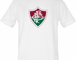 Camiseta Branca do time Fluminense !