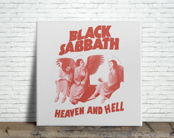 Azulejo Decorativo - Black Sabbath Heaven and Hell