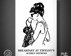 Breakfast at Tiffany's - Bonequinha de Luxo | Pôster Digital