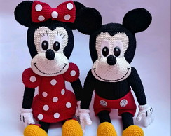 PDF Mickey e Minnie sem costuras PDF