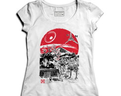 Camiseta Feminina Nerd Geek Star Wars -Presentes