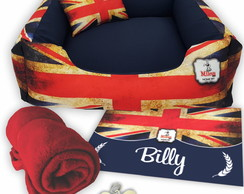 Kit 5 pçs Personalizado Cama Pet 60x60 - LONDON