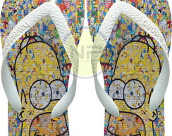 Chinelo Havaianas Personalizado Simpsons - The Homer