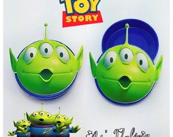 Latinha Space Alien Toy Story
