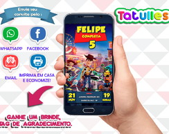 Convite Toy Store Digital Para Whatsapp
