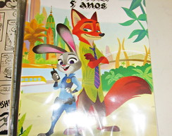 revista colorir zootopia 20x14