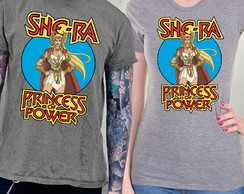 Camiseta Mestres do Universo She-Ra Blusa Princesa do Poder