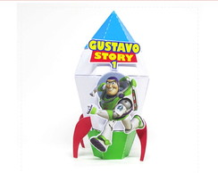 Foguete Buzz Toy Story 4