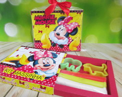 Kit massinha Minnie; lembrancinha minnie mouse
