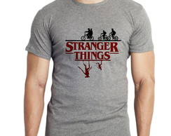 Camiseta Mescla Série Stranger Things