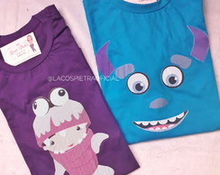 Camiseta Monstros SA