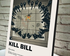 Quadro Decorativo A4 Kill Bill