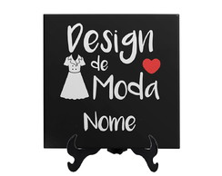 quadro decorativo design de moda