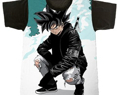 camiseta - dragon ball - goku - swag