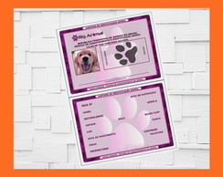 Carteirinha Pet Digital | Pet | RG Animal | RG Pet