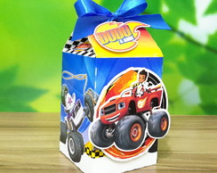 Caixa Milk com Scrap Blaze And the Monster Machines