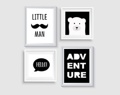 Poster Digital - ESCANDINAVO - ADVENTURE/LITTLE MAN