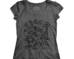 Camiseta Feminina Video Game
