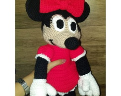 MINNIE DE AMIGURUMI