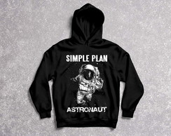 Moletom Feminino Simple Plan
