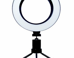 Anel De Led Circular 16cm Usb Ring Light Iluminador Estúdio