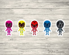 Aplique Power Rangers Cute 3,5 cm