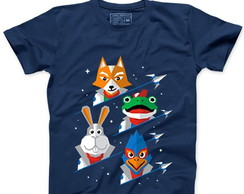 Camiseta Masculina Star Fox