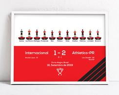 Quadro A3 Internacional X Athletico Pr Copa Do Brasil No Elo7 Vivenci Arte 109144a