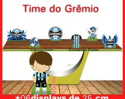 Display time do grêmio , totem enfeite de aniversario