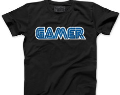 Camiseta Masculina Gamer, Video Game, Jogo